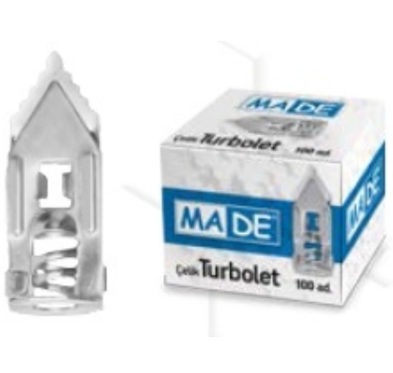 Çelik Turbolet (En:11 mm, Boy:28 mm) -ÇT1